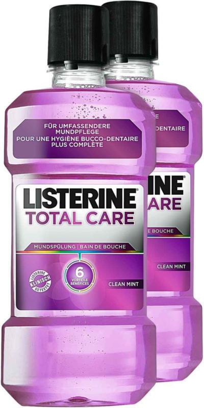 Listerine lavage de bouche Total Care 2 -