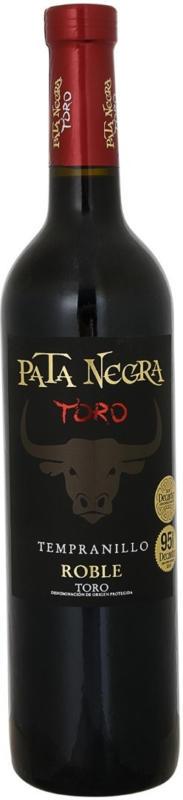 Pata Negra Toro Roble 75 cl - 6 Stück