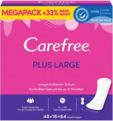 Carefree Slipeinlagen Plus Large MEGAPACK 64 Stück -