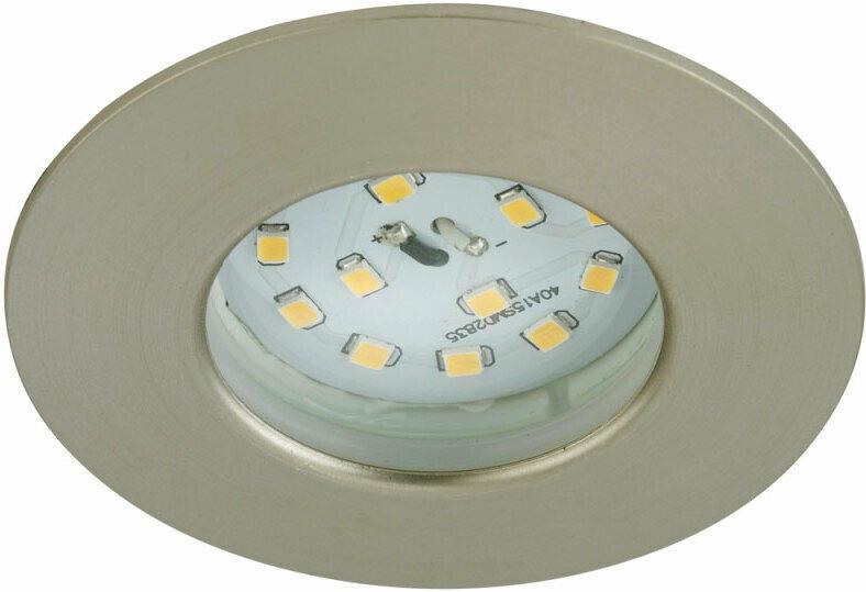 LED-Einbauleuchte, matt, 5W, rund