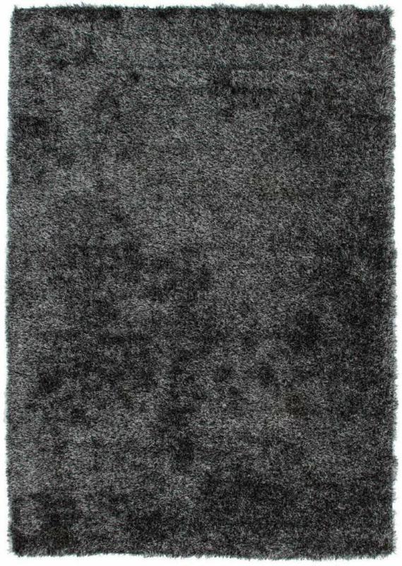 """Hochflorteppich """"Diamond 700 Anthrazit"""", 80x150cm 80x150 cm"""