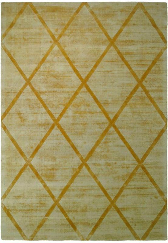 """Kurzflorteppich """"Luxury 210"""" Gelb, 120x170cm 120x170 cm"""