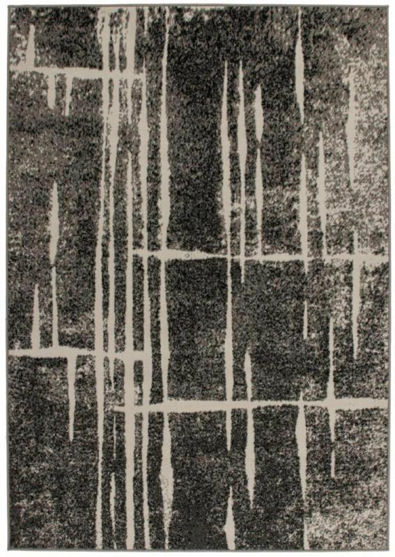 """Flachflor-Teppich """"Rohulla 3010"""" Grau/Elfenbein, 160x230cm 160x230 cm"""