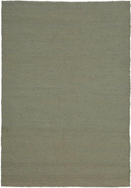 """Wollteppich """"Fancy 110"""", silber/grau 120x170 cm"""