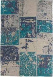"Flachgewebter Teppich ""Matrix 110"", türkis 160x230 cm"