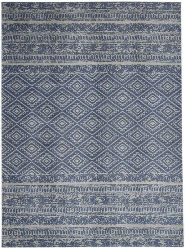"""Outdoor-Teppich """"Sunny 110"""", hellblau 160x160 cm"""