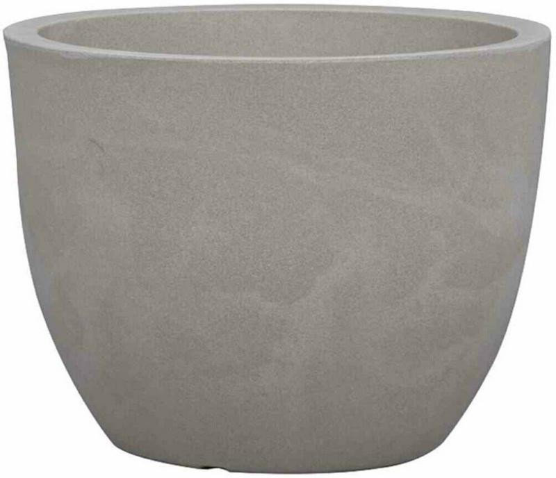"Gefäß ""Bristol"" Ø50x38,4 cm, taupe-granit taupe | Ø50x38,4 cm"