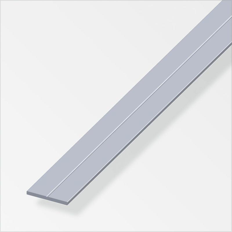 Flachstange, 19,5mm, 2,5m, blank 1,95 cm | 250 cm