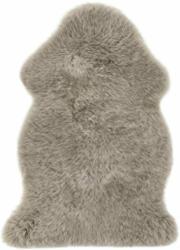 "Teppich ""Schaffell"" ca. 60x85 cm, Taupe Taupe"