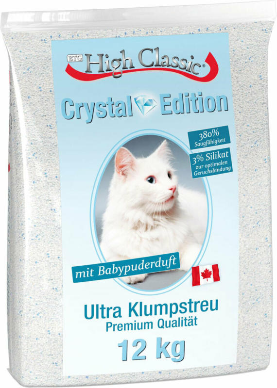 Classic Cat Katzenstreu High Crystal Edition 12kg