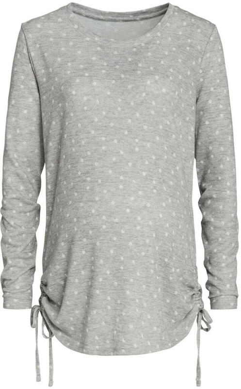 Damen Umstands-Sweatshirt mit Pünktchen (Nur online)