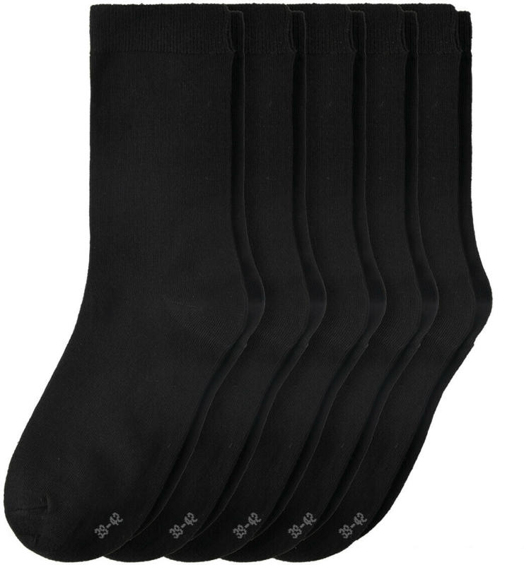 5 Paar Damen Socken mit Bio-Baumwolle (Nur online)