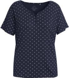 Damen T-Shirt mit imitierter Knopfleiste (Nur online)