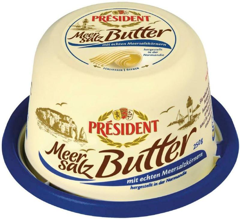 Président Meersalz-Butter