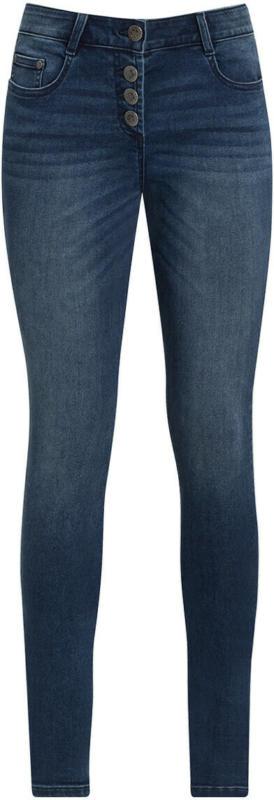 Damen Slim-Jeans mit Knopfleiste (Nur online)