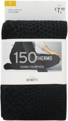 Damen Thermo-Strumpfhose mit tierischem Muste (Nur online)