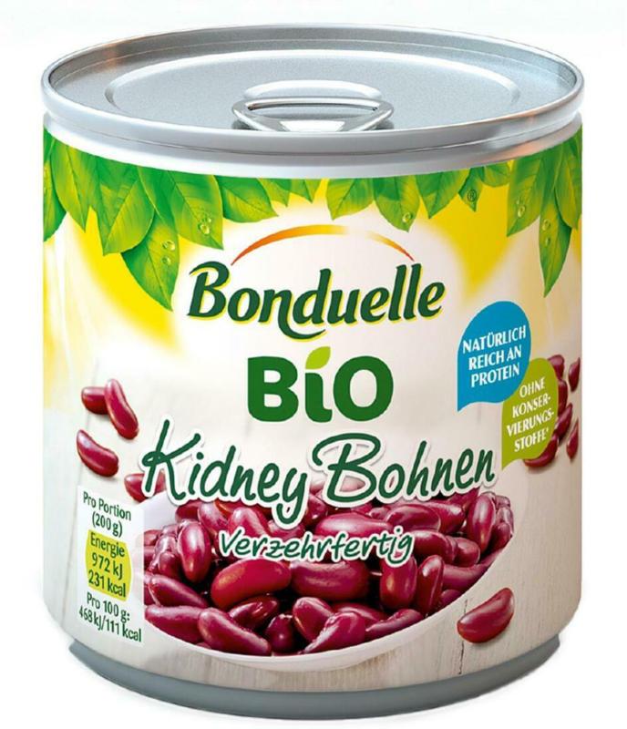 Bonduelle Bio Kidney Bohnen