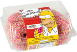 Simpsons Donuts Pink 4er