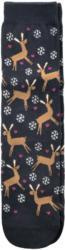 1 Paar Damen Socken mit winterlichem Motiv (Nur online)