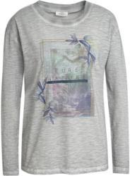 Damen Langarmshirt mit Oil-Washed-Effekt (Nur online)