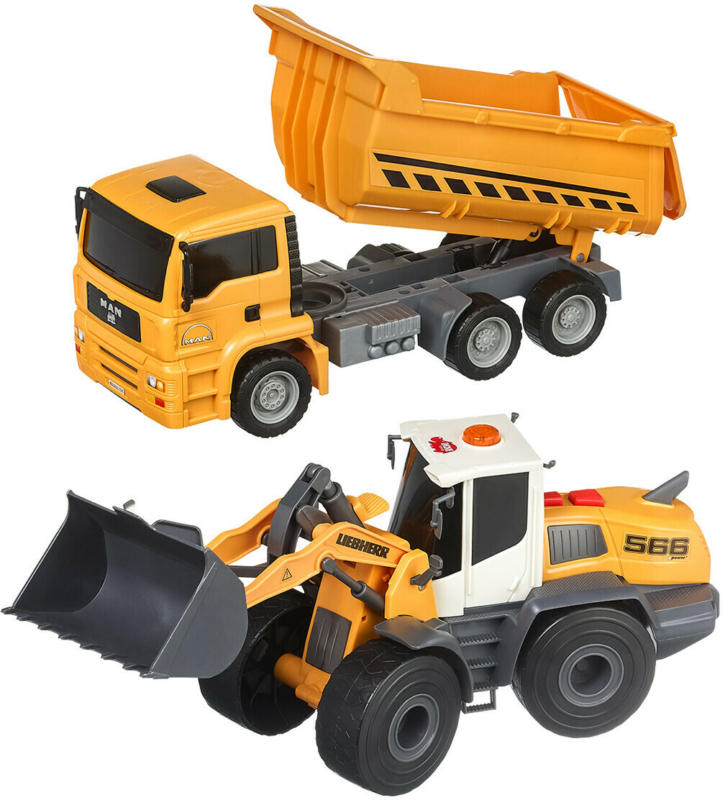 Dickie Construction twin pack (Nur online)