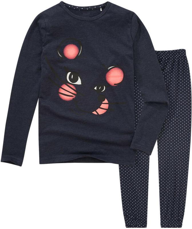 Mädchen Schlafanzug mit Maus-Print (Nur online)