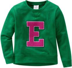 Mädchen Sweatshirt mit Frottee-Applikation (Nur online)