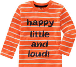 Baby Langarmshirt mit Message-Print (Nur online)