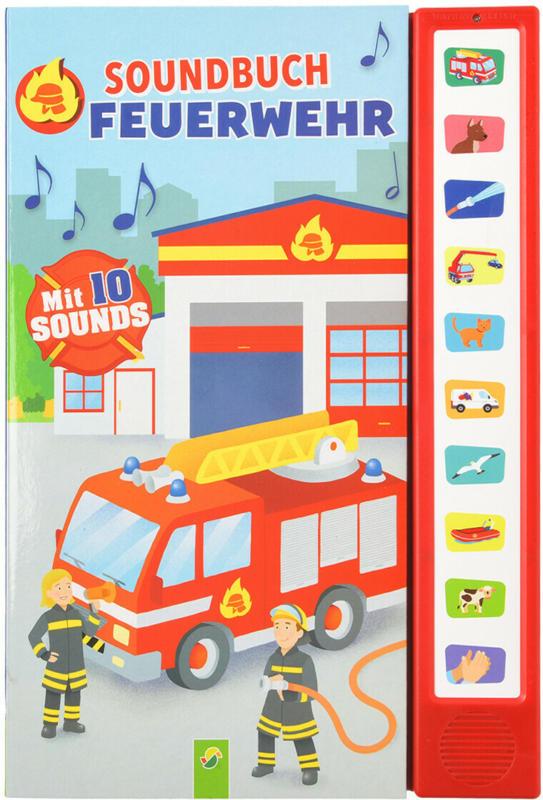 Soundbuch mit Feuerweh-Geräuschen (Nur online)