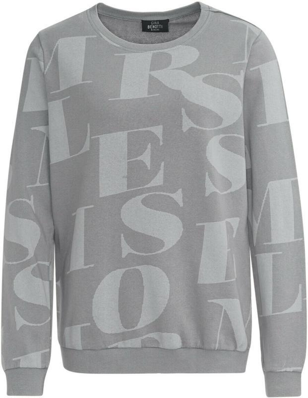 Damen Sweatshirt mit Buchstaben-Print (Nur online)