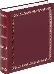 WALTHER Classicalbum Das schicke Dicke Fotoalbum , 100 Seiten , Kunstleder , Rot