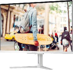 MEDION AKOYA® E27301 (MD 61894), All-in-One PC mit 27 Zoll Display, Ryzen™ 5 Prozessor, 8 GB RAM, 1 TB SSD, Integr. Radeon™ Vega 8 Graphics, Silber