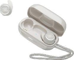 JBL Refelect Mini NC, In-ear True Wireless Kopfhörer Bluetooth Weiß