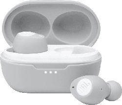 JBL Tune 115 TWS , In-ear True Wireless Kopfhörer Bluetooth Weiß