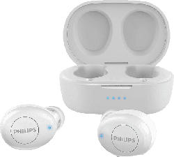 PHILIPS T2205WT/00, In-ear True Wireless Kopfhörer Bluetooth Weiß