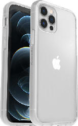 OTTERBOX React + Trusted Glass , Backcover, Apple, iPhone 12/ 12 Pro, Polycarbonat, Kunststoff, Transparent
