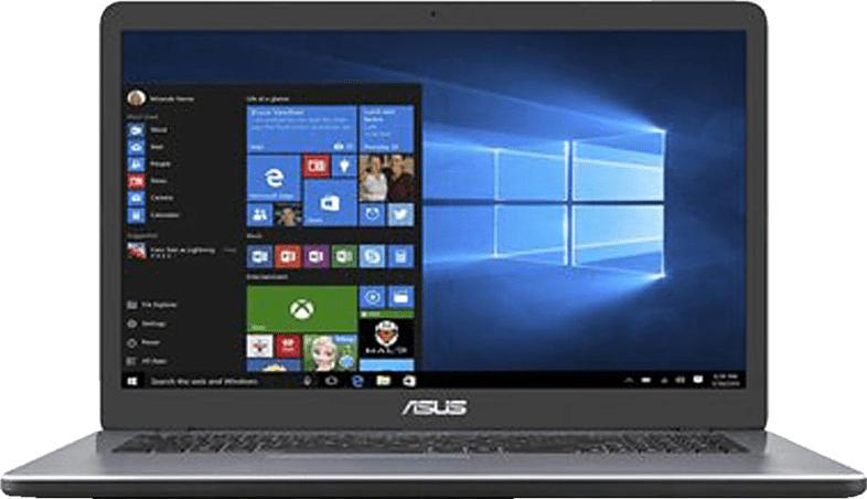 ASUS VivoBook 17 F705, Notebook mit 17.3 Zoll Display, Pentium® Prozessor, 8 GB RAM, 512 GB SSD, Intel® HD Grafik 510, Star Grey