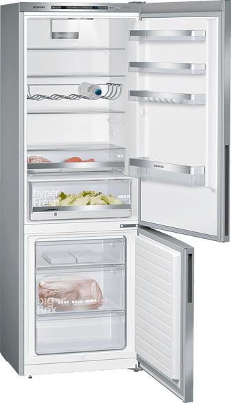 SIEMENS KG49EAICA IQ500 Kühlgefrierkombination (A+++, 190 kWh/Jahr, 2010 mm hoch, inox-antifingerprint)