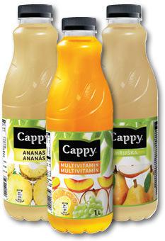 CAPPY JUICE 1L