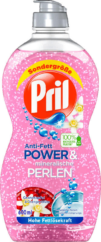 Pril Spülmittel Power&Perlen Granatapfel&Orange