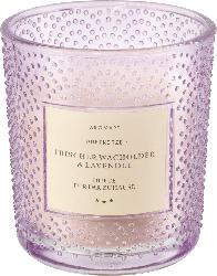 Dekorieren & Einrichten Duftkerze mit Glas Wachholder & Lavendel