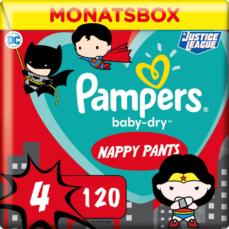 Pampers Pants BabyDry Gr.4 9-15 kg Limited Edition