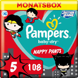 Pampers Pants BabyDry Gr.5 12-17 kg Limited Edition