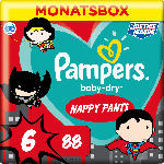 dm-drogerie markt Pampers Pants BabyDry Gr.6 15+ kg Limited Edition