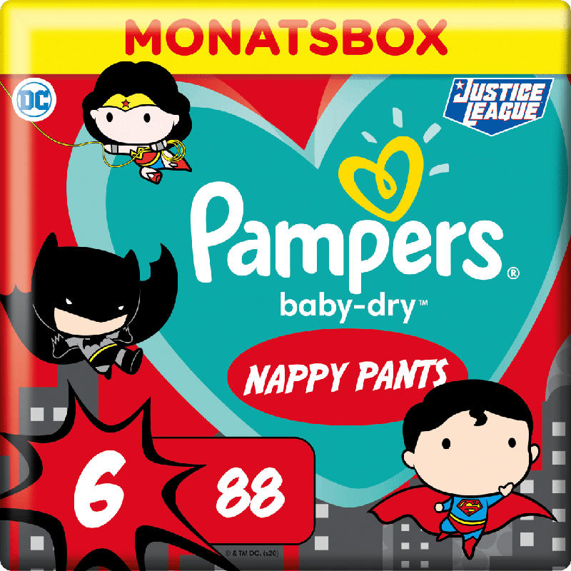 Pampers Pants BabyDry Gr.6 15+ kg Limited Edition