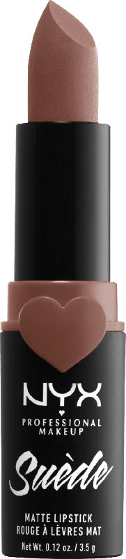 NYX PROFESSIONAL MAKEUP Lippenstift Suede Matte Lipstick rosé of the day 03
