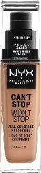 NYX PROFESSIONAL MAKEUP Make-up Can't Stop Won't Stop 24-Hour Foundation medium buff 10.5
