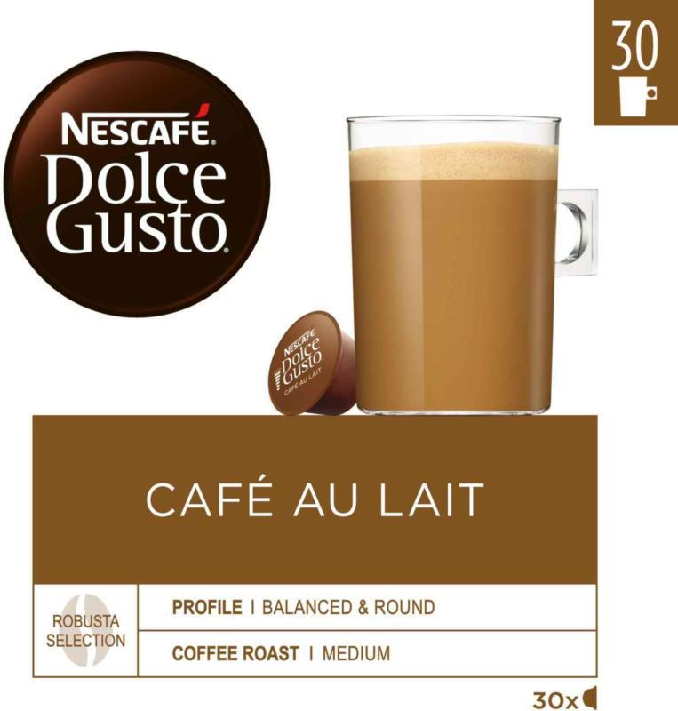 Nescafé Dolce Gusto Café au Lait 30 Kapseln -