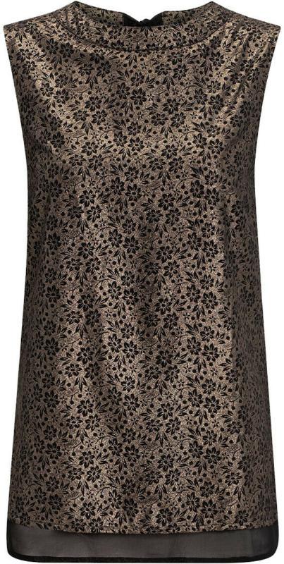 Damen Bluse mit Glitzer-Print (Nur online)