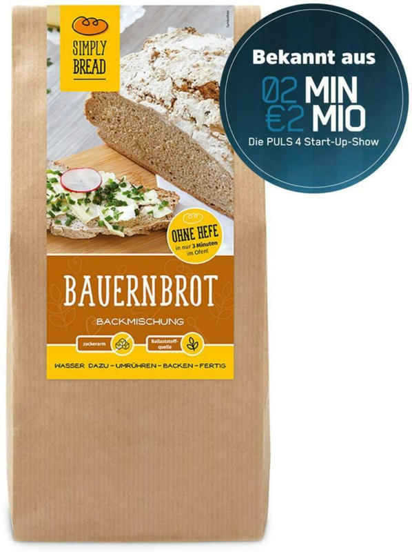 Simply Bread Bauernbrot Backmischung